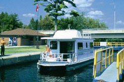 Egan Houseboat Rentals starting near Emily Provincial Park on the